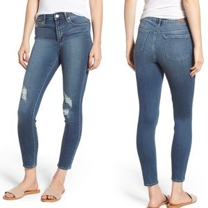 Articles of Society Heather Crop Skinny Ankle Jean